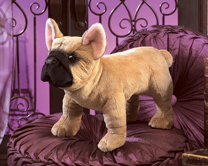 Folkmanis - French Bull Dog Puppet