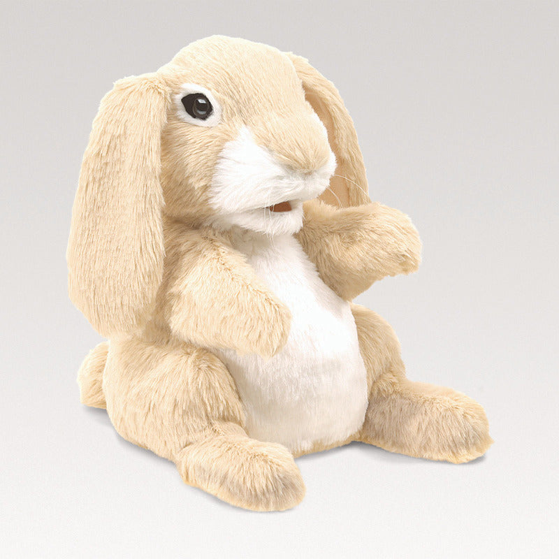 Folkmanis - Sniffing Rabbit Puppet