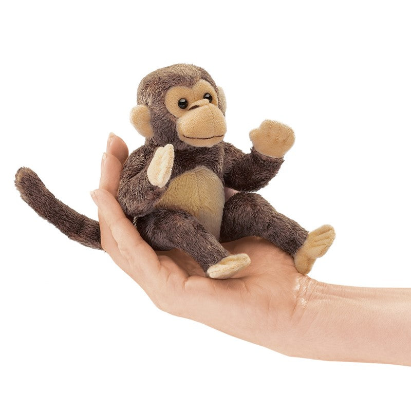 Folkmanis Finger Puppet Monkey at Little Sprout