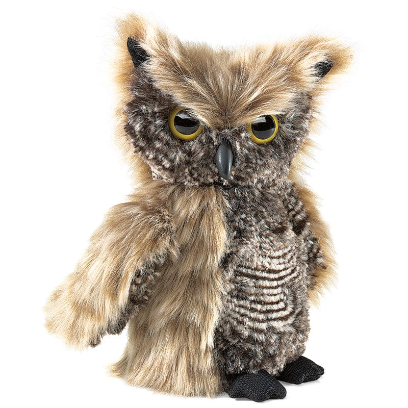 Folkmanis Screech Owl Puppet at Little Sprout