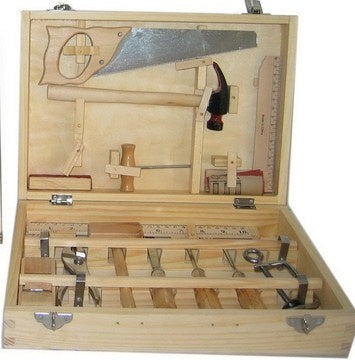 Fun Factory 16Pc Wooden Tool Set in case