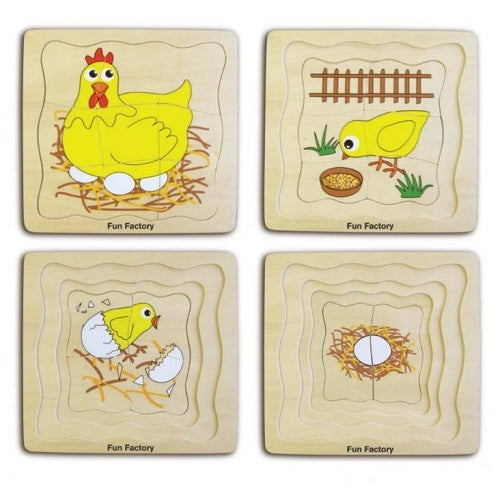 Fun Factory Chicken Layer Puzzle at Little Sprout