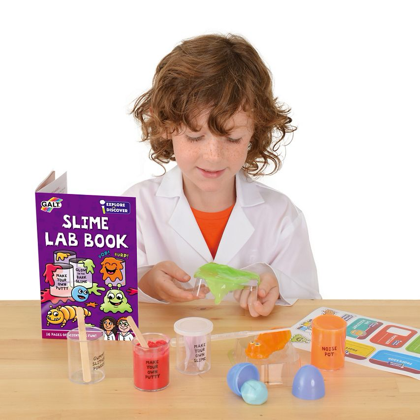 Galt Slime Lab boxed set