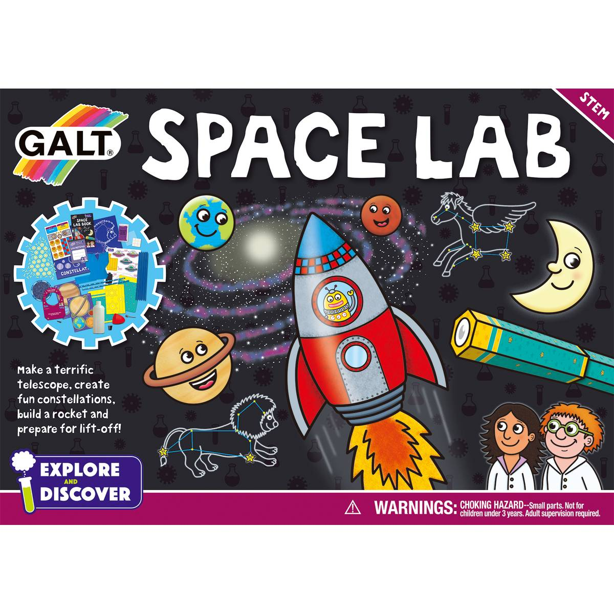 Galt Space Lab Science activity set at Little Sprout