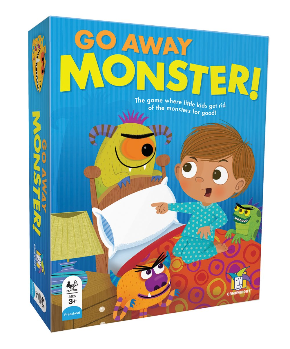 Gamewright Go Away Monster game