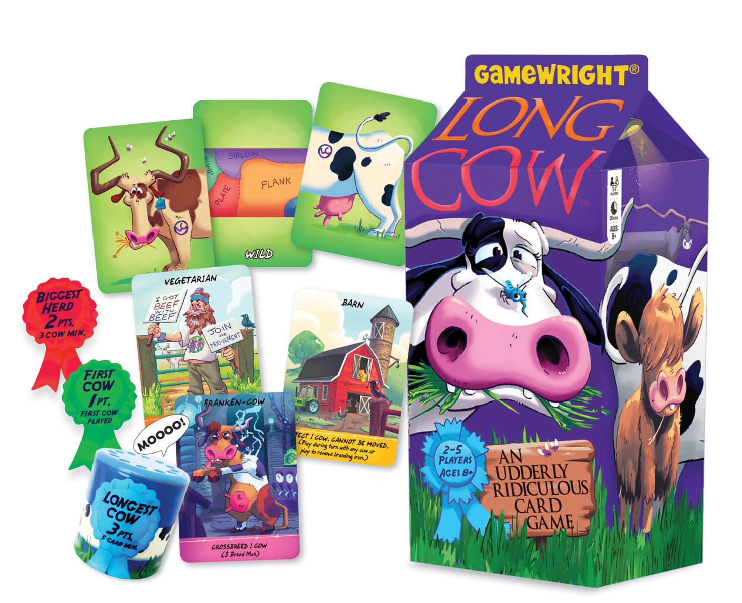 Gamewright - Long Cow