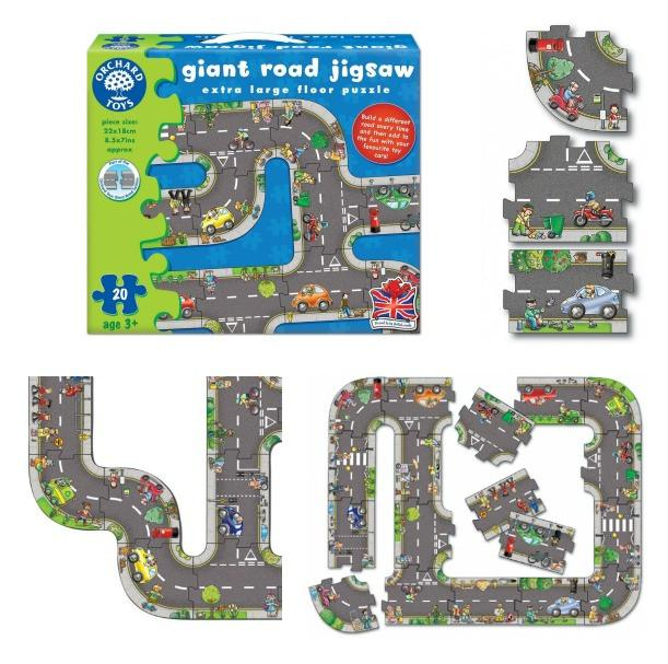 Orchard Toys - Giant Town Expansion Junctions 10 Pc