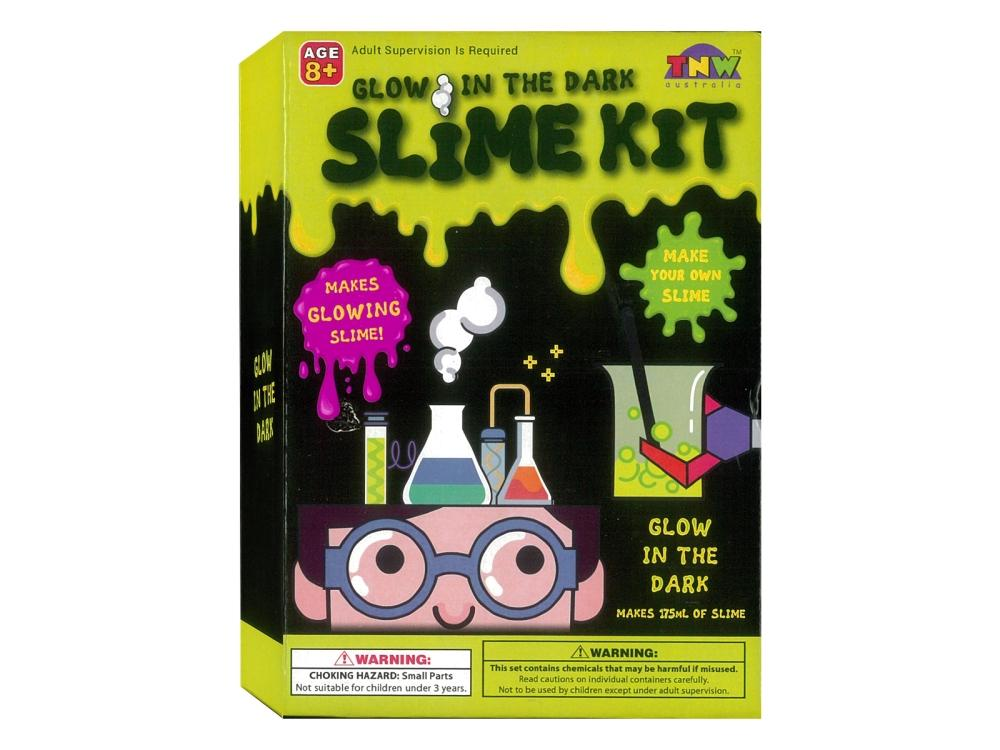 TNW Glow in the Dark Slime Kit for kids