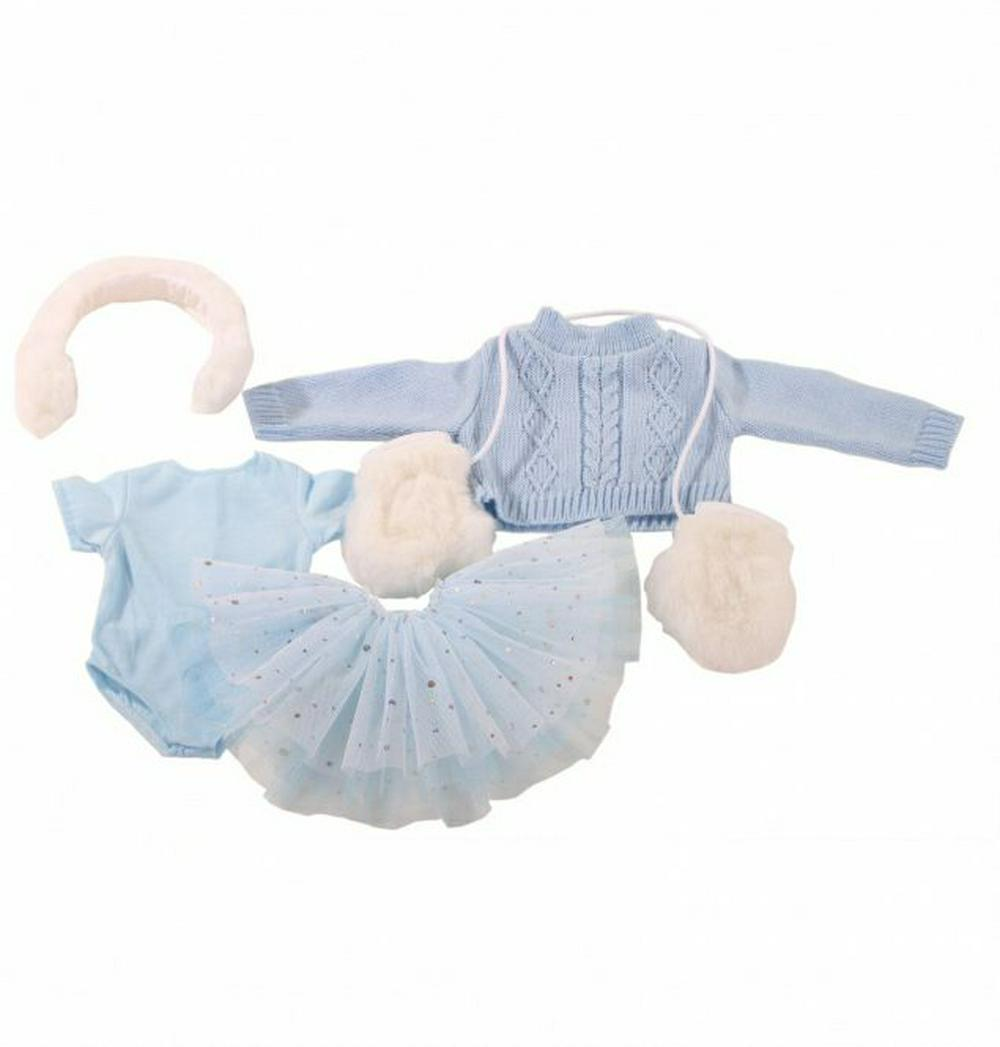 Gotz - Pale Blue Ice Skating Outfit - 45-50cm