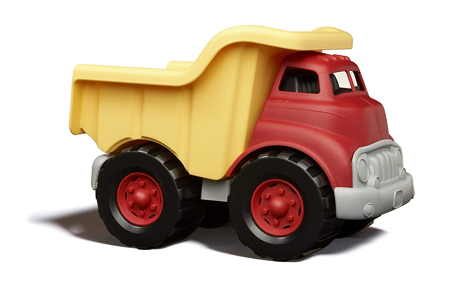 Green Toys dump truck at Little Sprout