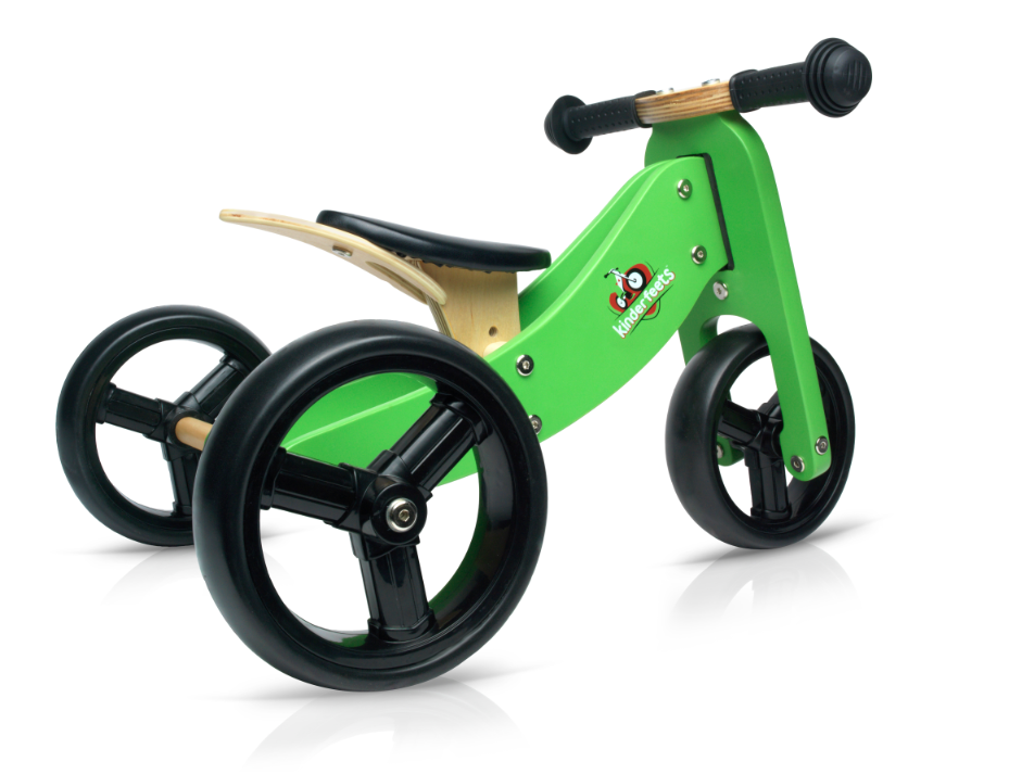 Kinderfeets - Tiny Tot Trike Green