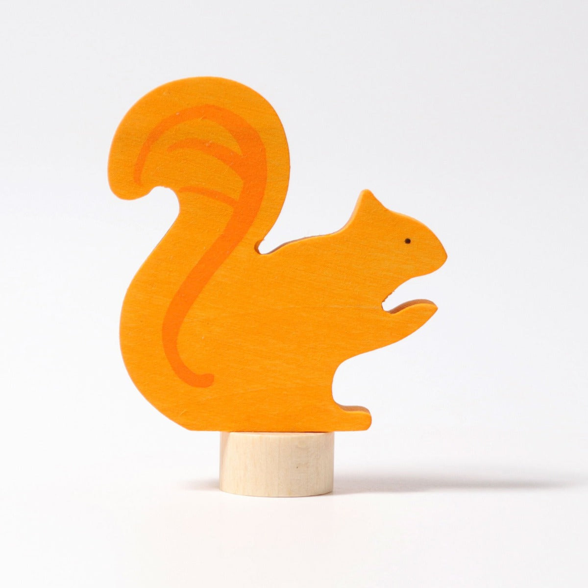 Grimms Orange Squirrel Decoration at Little Sprout