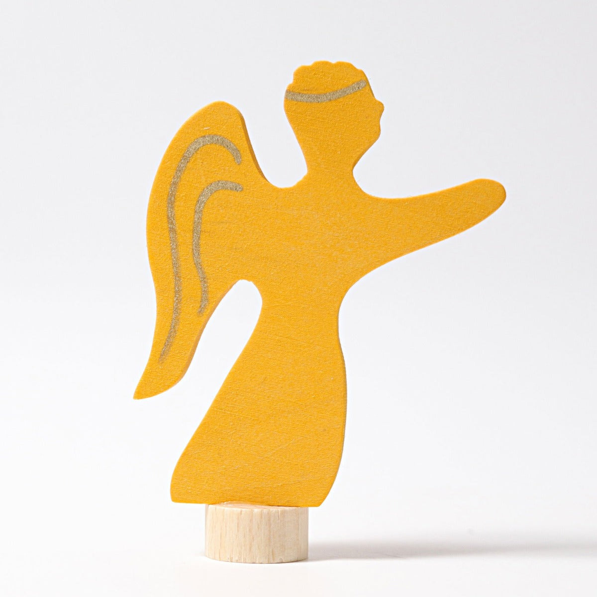 Grimms Yellow Angel Decoration