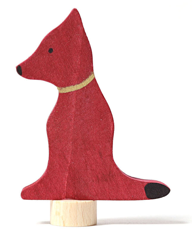 Grimms Decorative Sitting Dog Figurine at Little Sprout