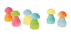 Grimms - Rainbow Mushrooms Pastel 12 Pc