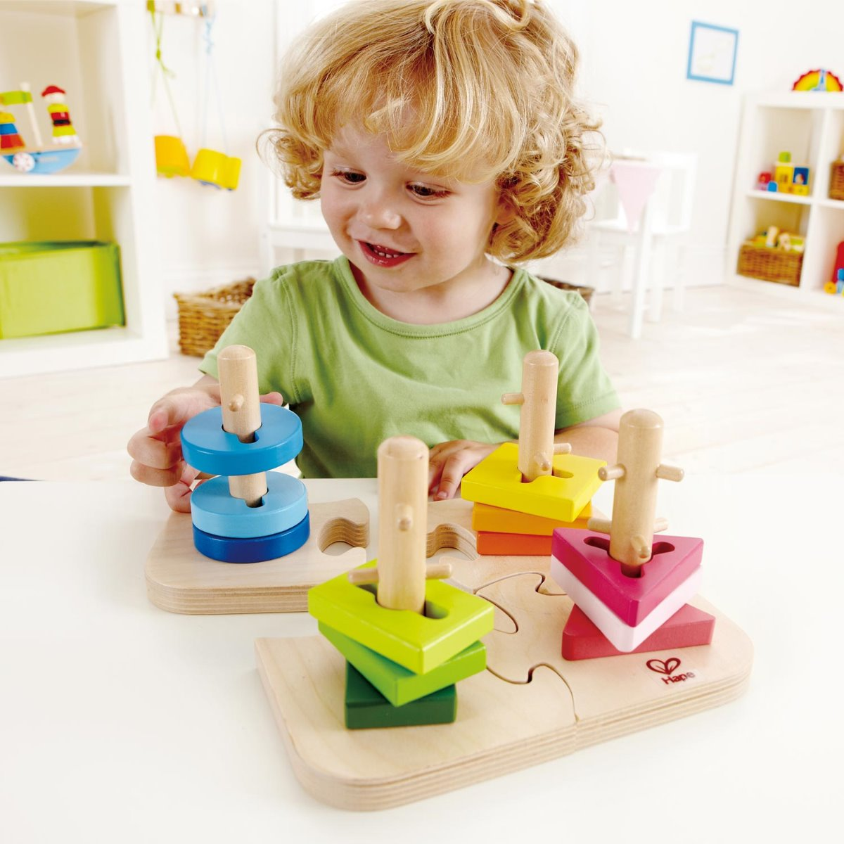 Hape Creative Peg Puzzle at Little Sprout