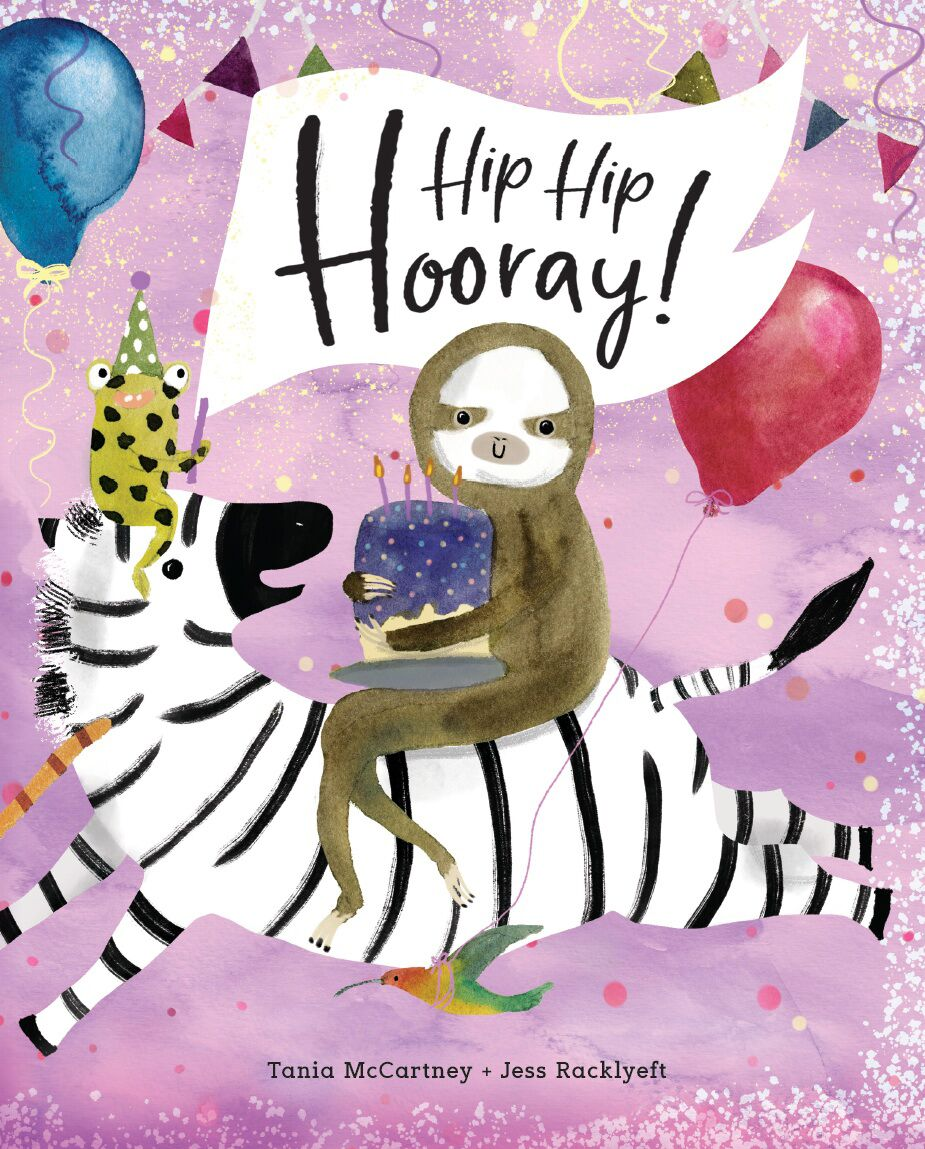 Hip Hip Hooray! Book by Tania McCartney at Little Sprout