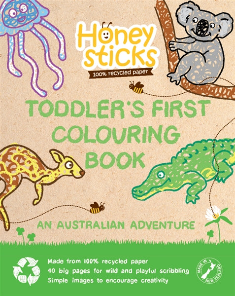 Honeysticks - Colouring Book - Australian Adventure
