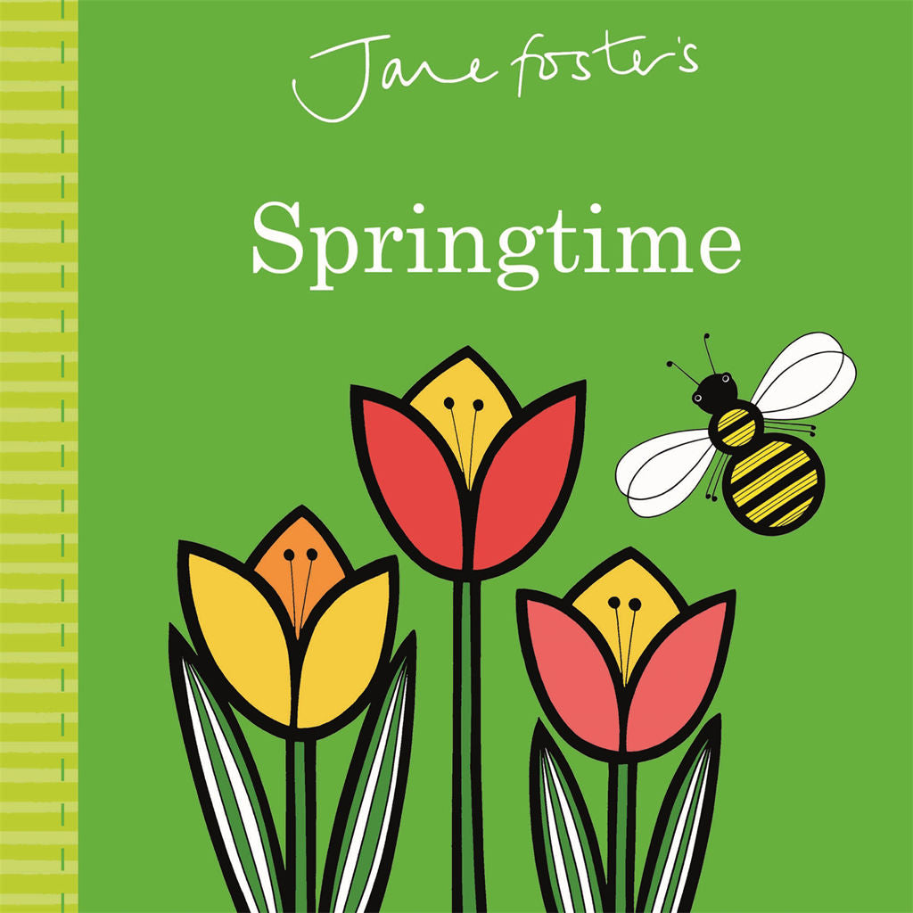 Jane Foster's Springtime book for toddlers