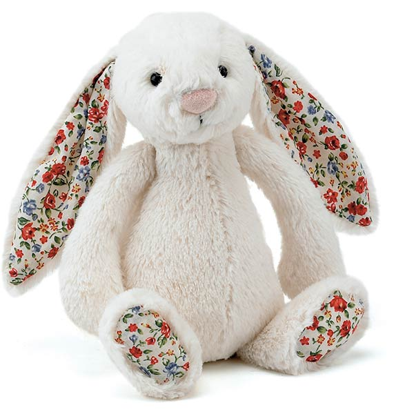 Jellycat Bashful Bunny Blossom Cream Medium