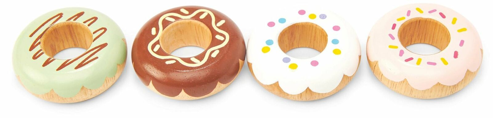Le Toy Van Honeybake Wooden Doughnuts