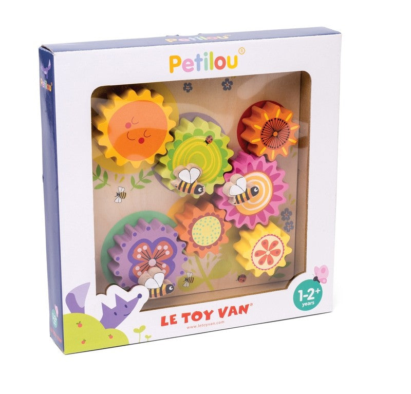 Le Toy Van Petilou Cogs and Gears Busybee wooden toy