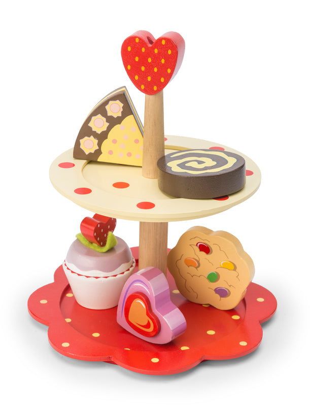 Le Toy Van - Honeybake 2 Tier Cake Stand