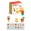 Magformers 16 Pc Stick-O Cooking Set Contents