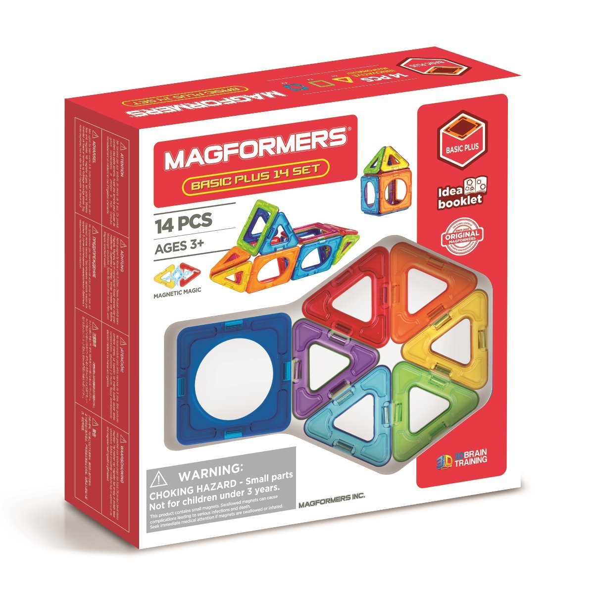 Magformers Basic Plus 14 Set at Little Sprout