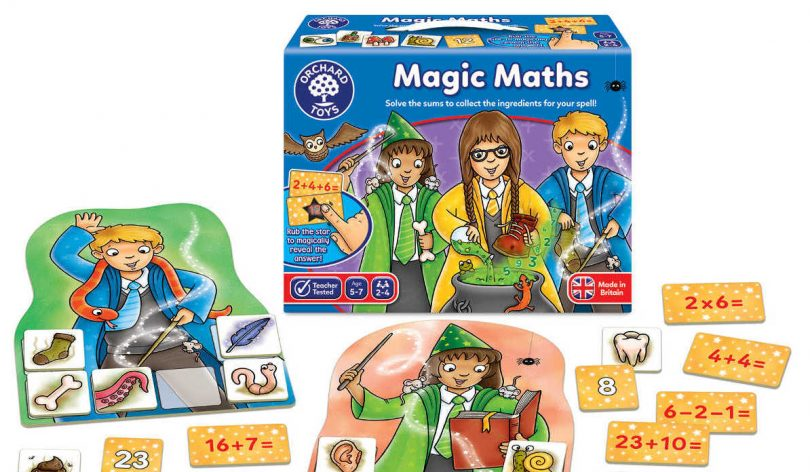 Orchard Toys Magic Maths educational game