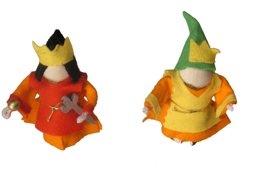 Magic Wood King and Queen Set