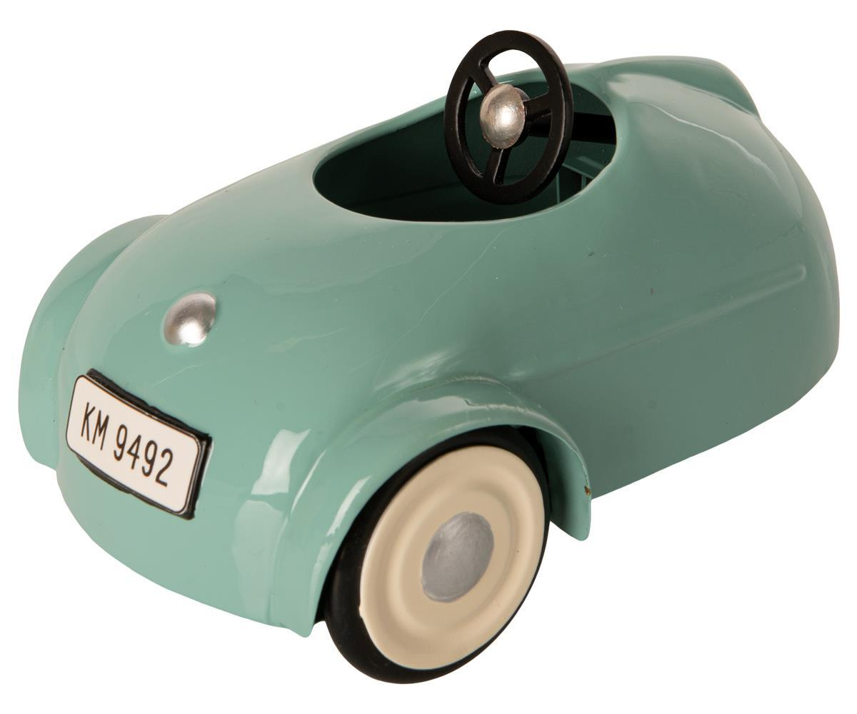 Maileg Mouse, Car and Garage Blue