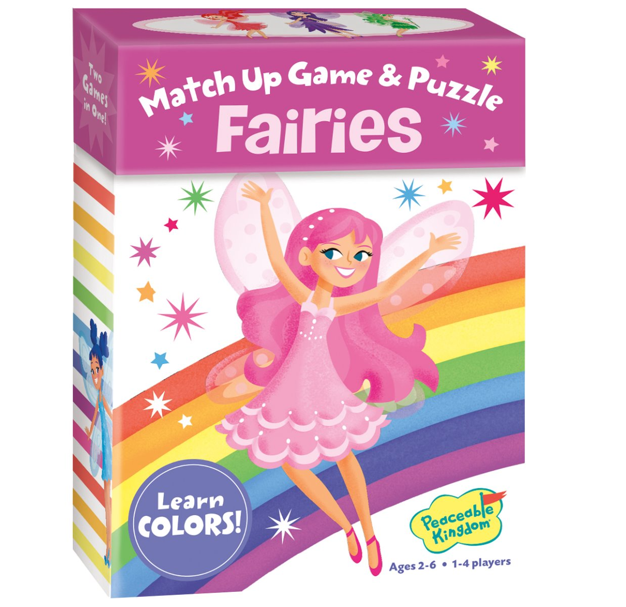 Peaceable Kingdom Match Up Game and Puzzle Fairies at Little Sprout