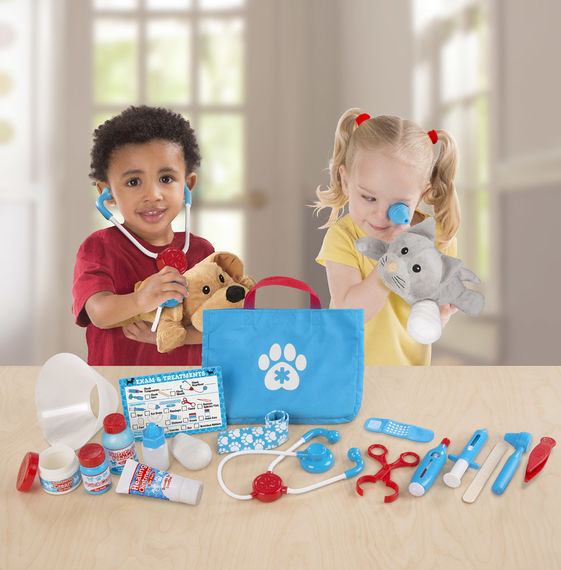 Melissa and Doug Examine and Treat Pet Set available at Little Sprout
