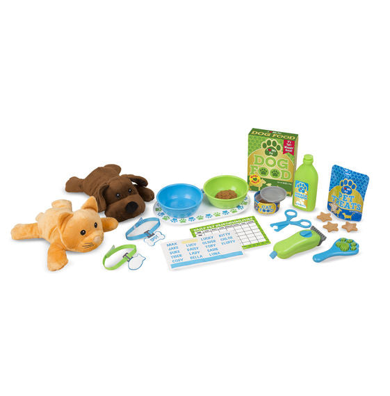 Melissa and Doug Feeding and Grooming Pet Care Play Set available at Little Sprout