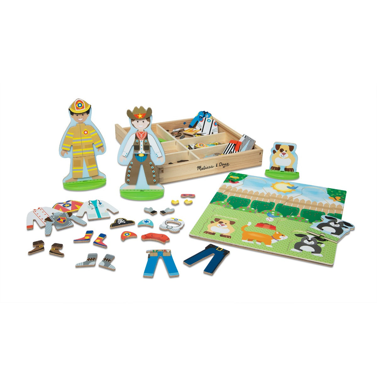 Melissa and Doug Occupations Magnetic Play Set