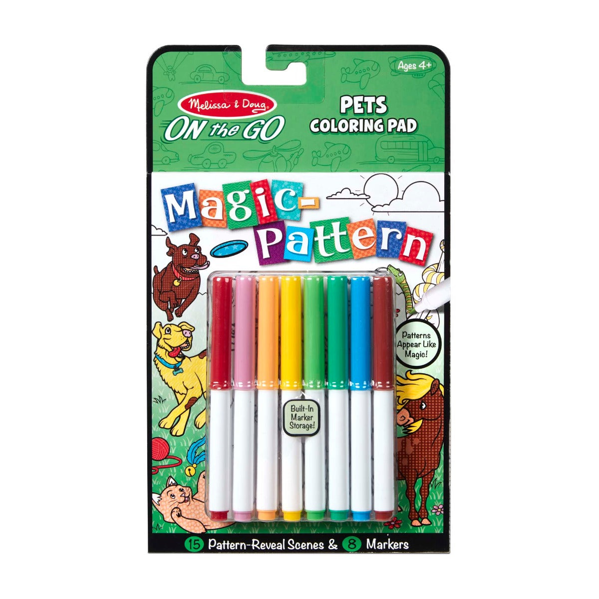 On the Go Magic Patter Pets Colouring Book