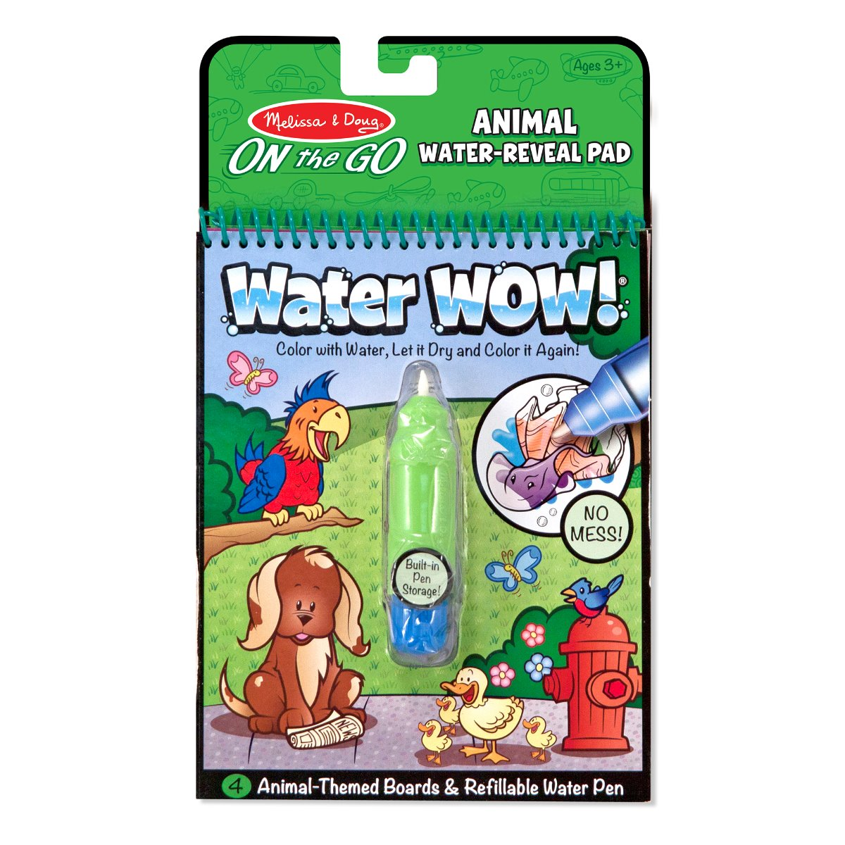 Melissa and Doug On the Go Water WOW Animals