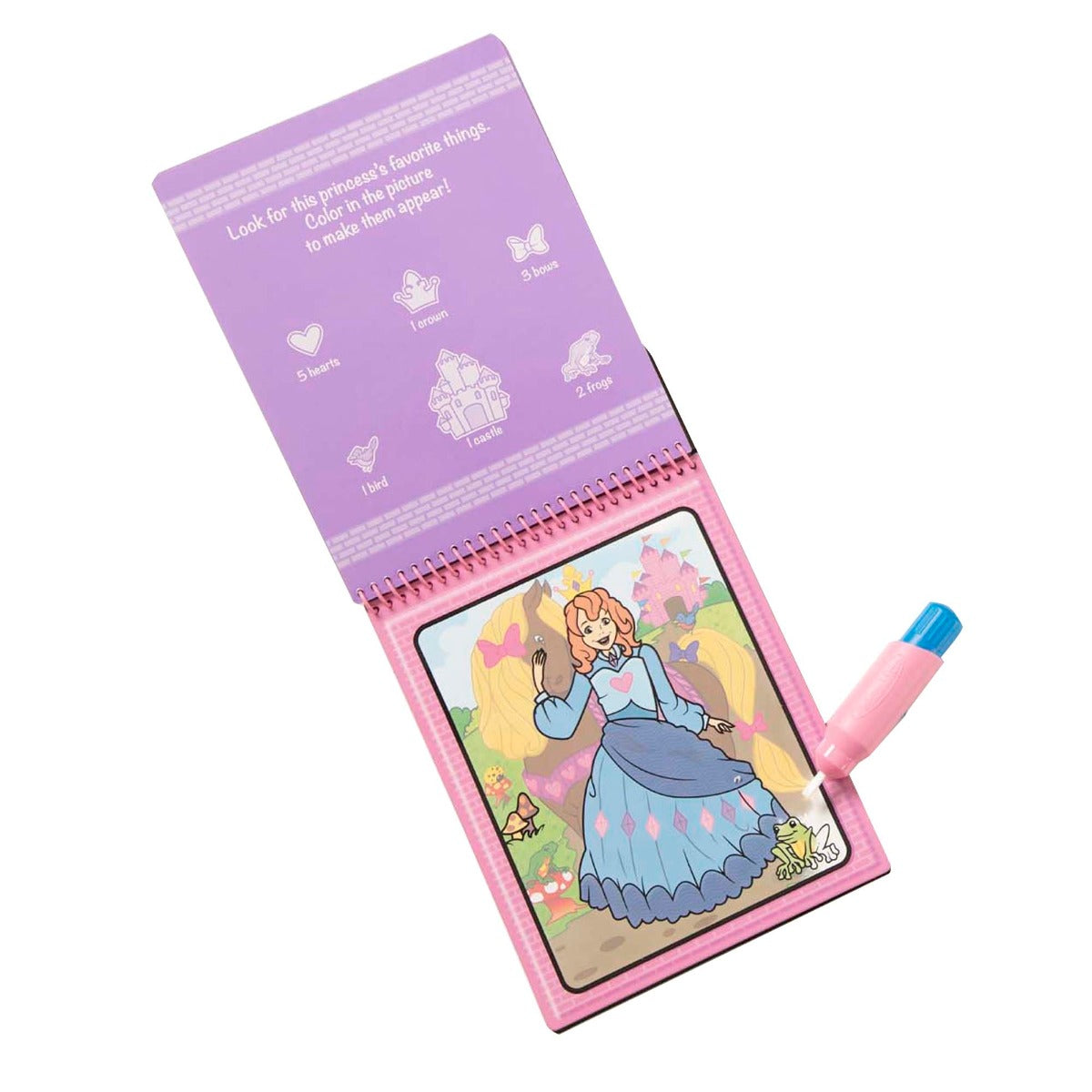 Melissa and Doug On the Go Water Wow Fairy Tale Water Reveal Pad