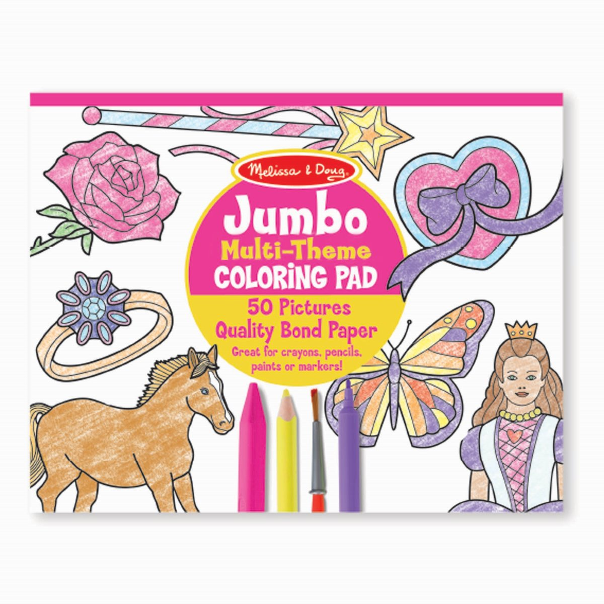 Melissa and Doug Jumbo Colouring Pad