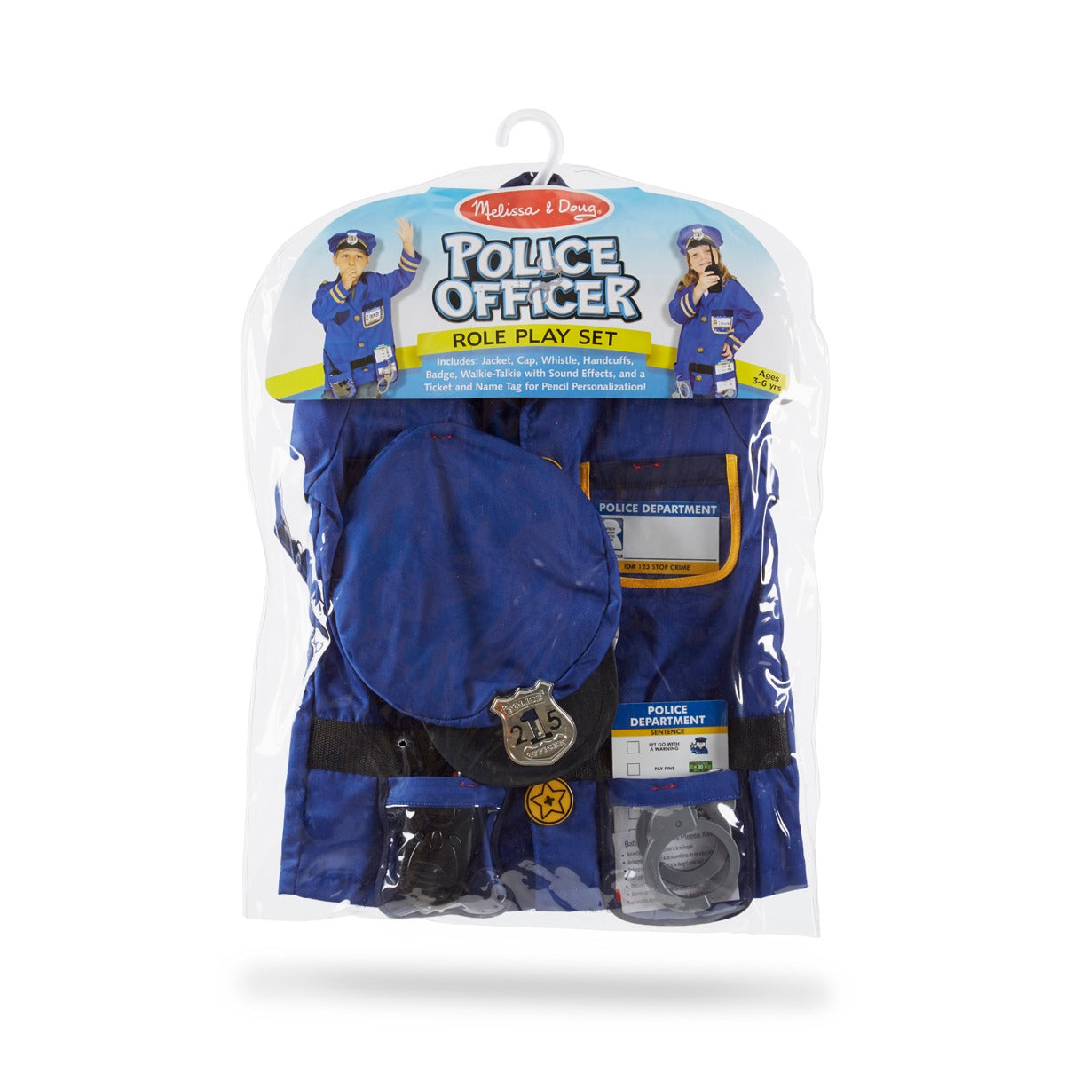 Melissa and Doug Police Costume