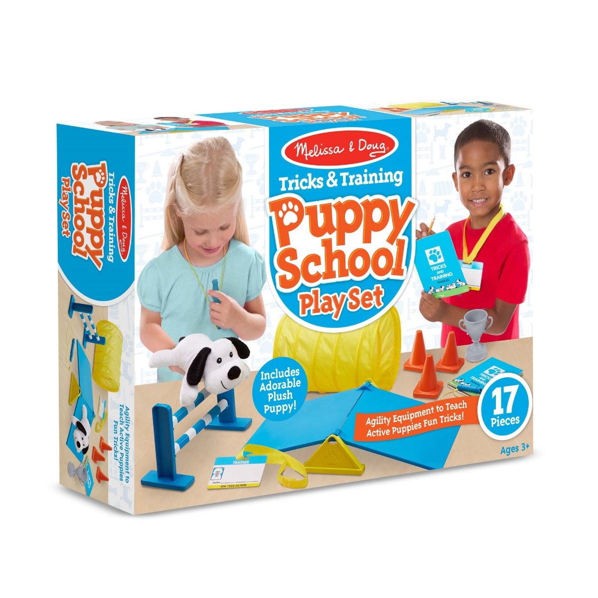 Melissa and Doug Tricks and Training Puppy School Play Set