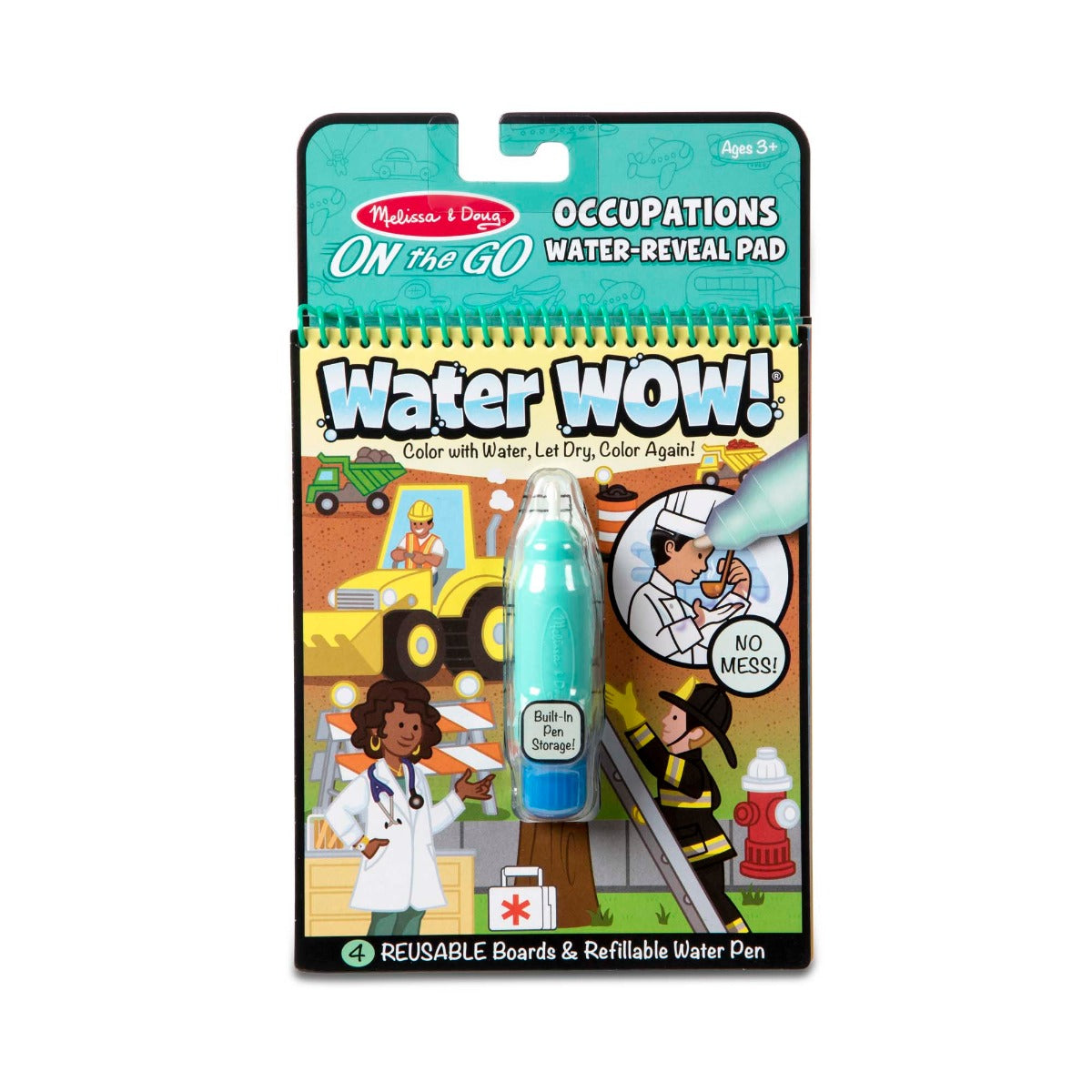 Melissa and Doug On the Go Water Wow Occupations Activity Pad