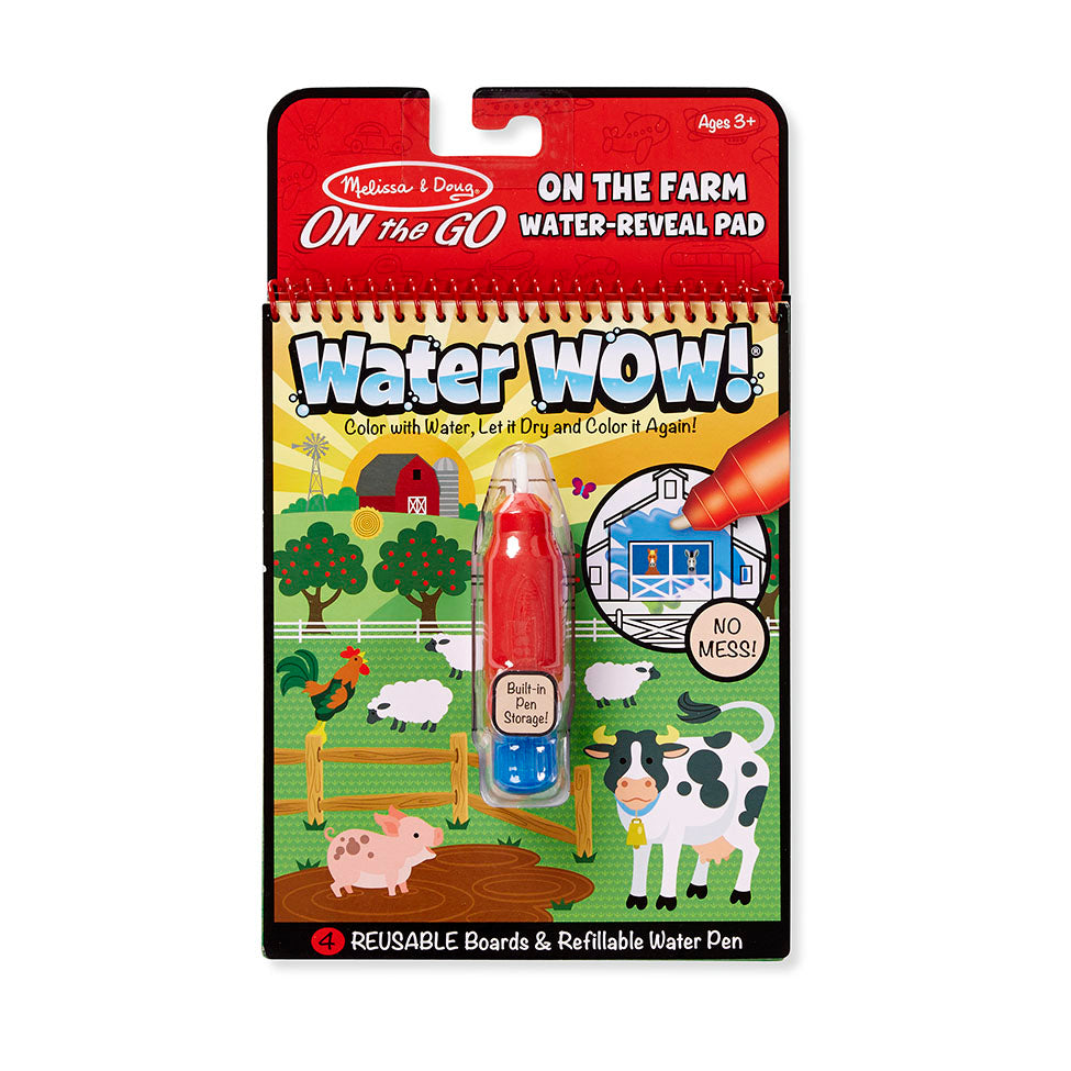 Melissa and Doug On the Go Water Wow On the Farm activity pad