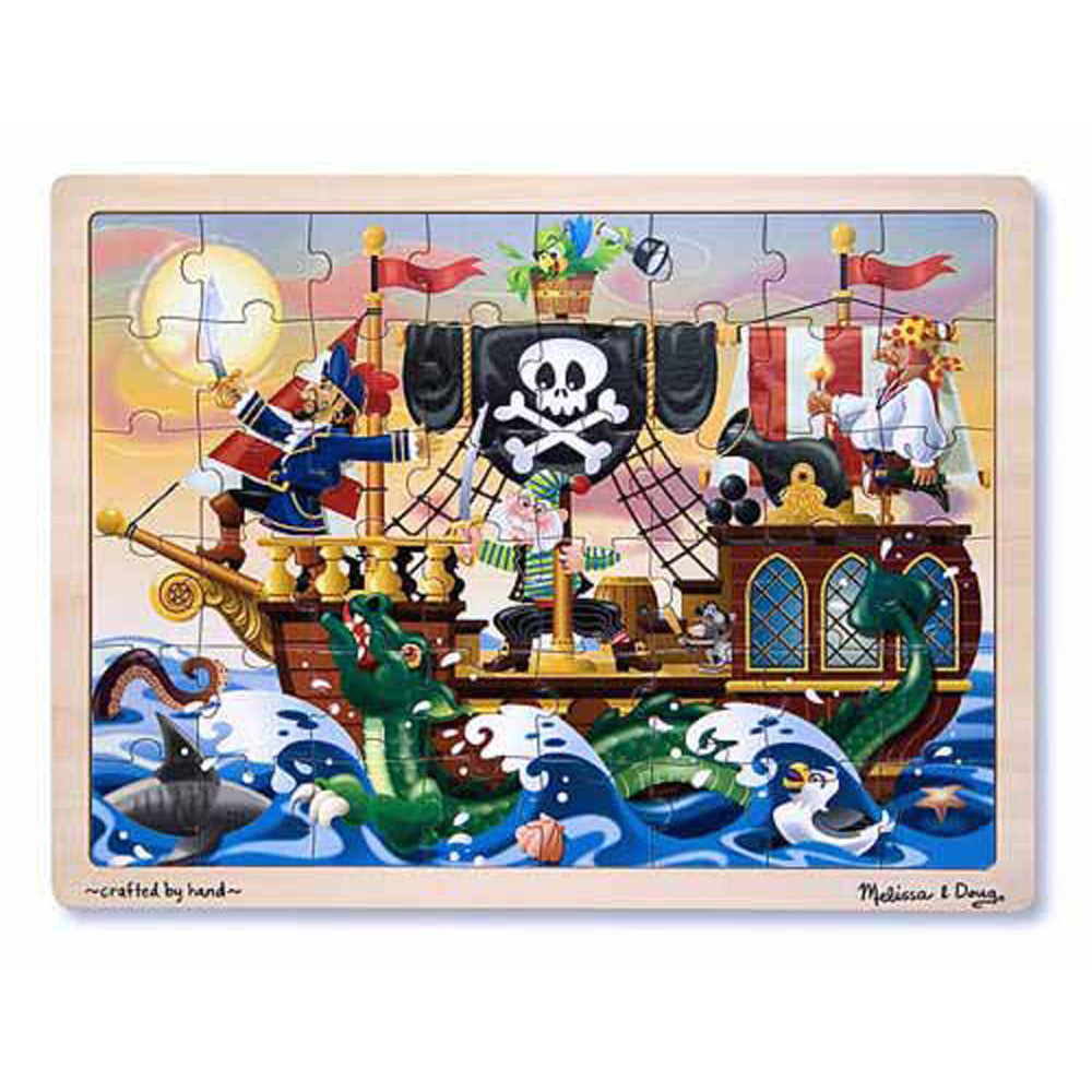 Melissa And Doug - Puzzle 48pc Pirate Adventure