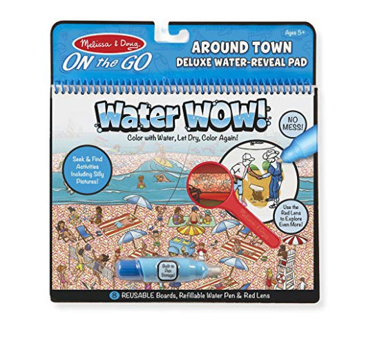 Melissa and Doug Around the Town Deluxe Water-Reveal Pad at Little Sprout