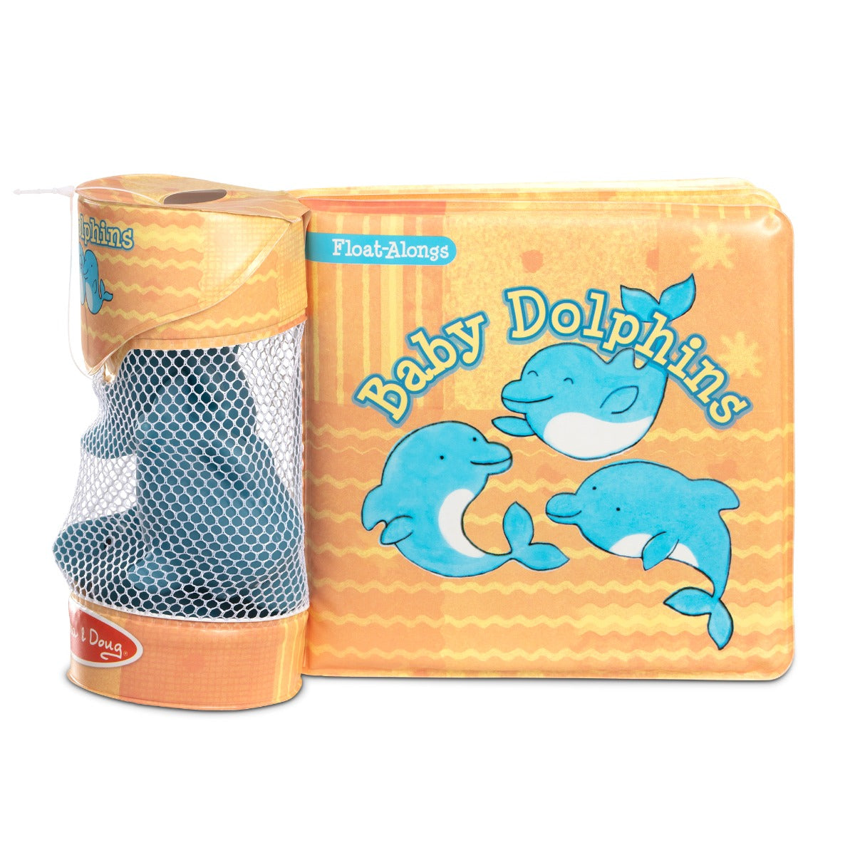 Melissa and Doug Float Alongs Baby Dolphins bath toys