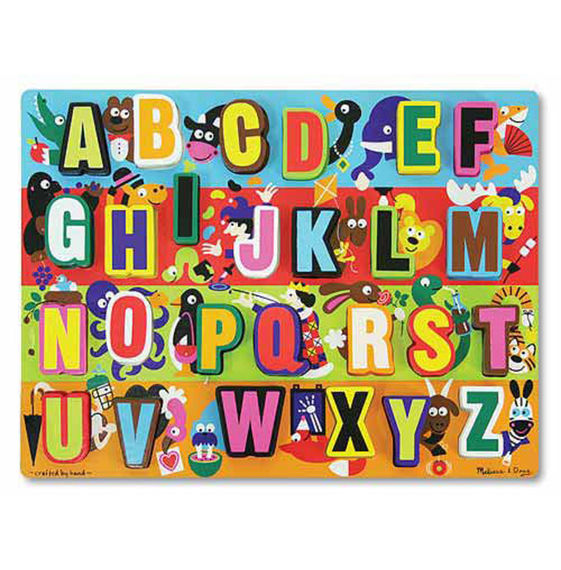 Melissa And Doug - Jumbo Abc Chunky Puzzle