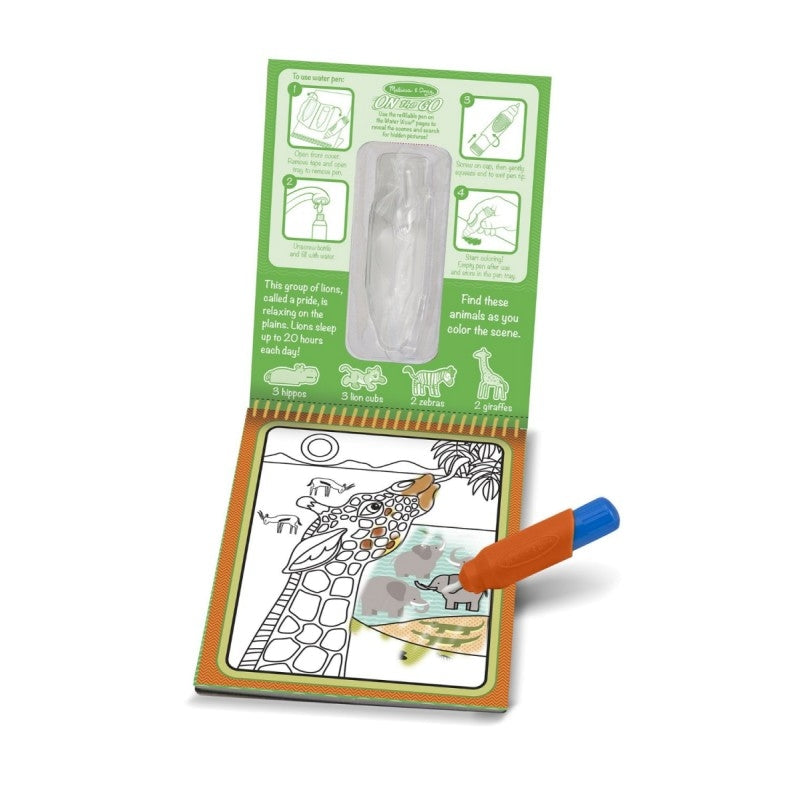 Melissa and Doug On the Go Water Wow Safari