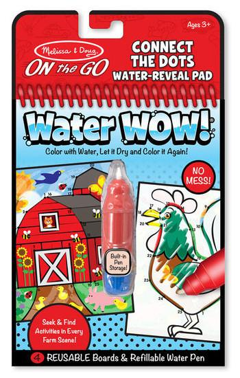 Melissa And Doug - On The Go Water Wow Connect Dots